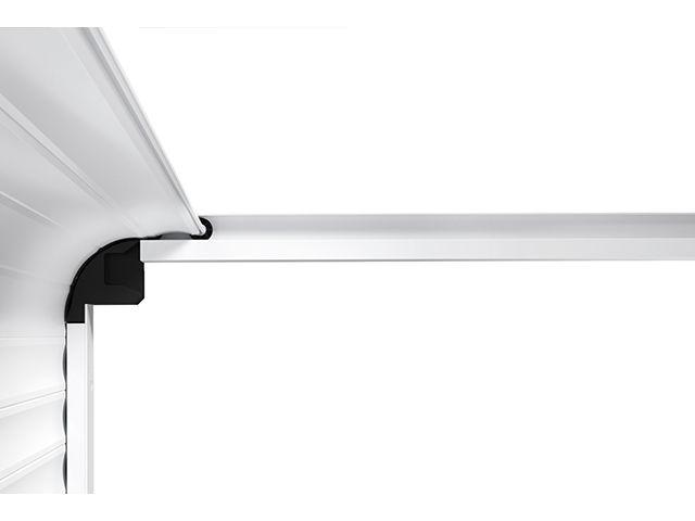 Porte de garage enroulable refoulement sous plafond rollmatic od contact hormann - Hauteur sous plafond standard ...