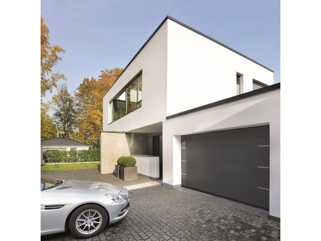 Porte de garage sectionnelle lpu 42 contact hormann for Grande porte de garage sectionnelle