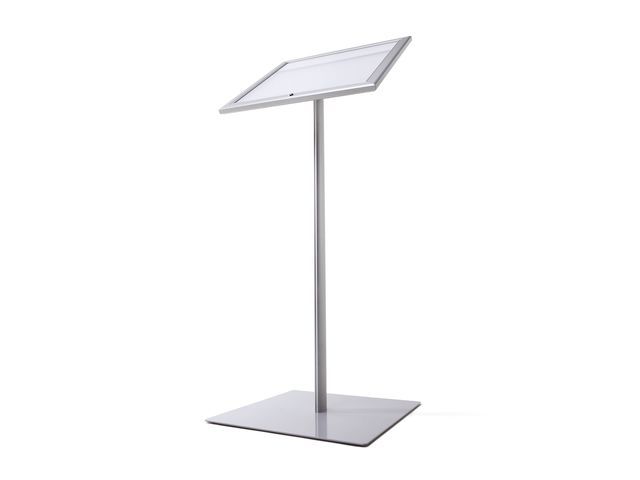 Porte menu sur pied ext rieur led contact roll co for Eclairage exterieur sur pied