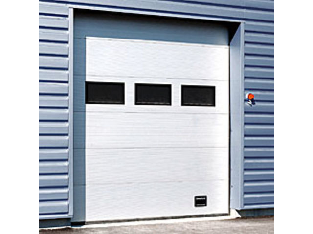 Porte sectionnelle 542 crawford contact crawford group - Porte sectionnelle crawford ...