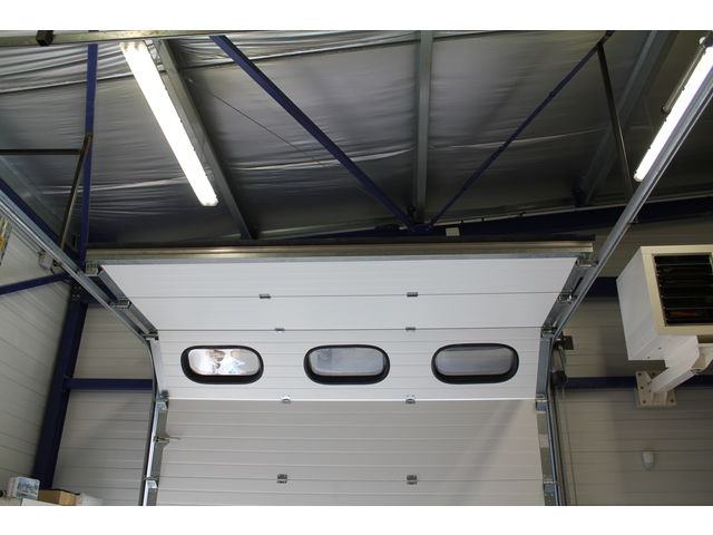 Porte sectionnelle industrielle safir thermotec - Prix porte sectionnelle industrielle ...