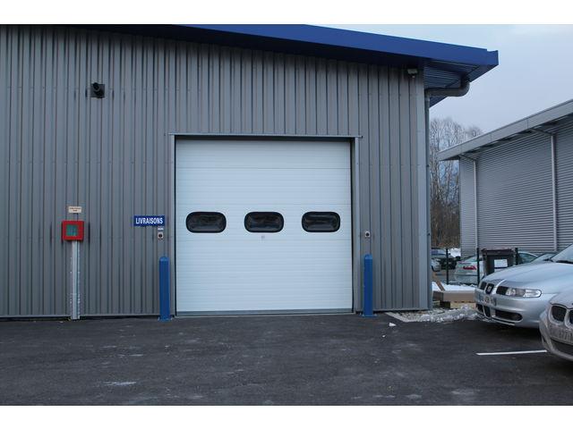 Porte sectionnelle industrielle safir thermotec contact safir - Porte sectionnelle industrielle occasion ...