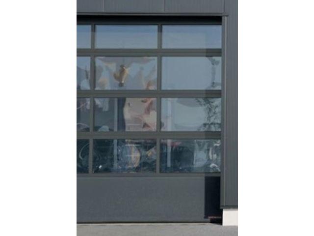 Porte Vitrée Acier Et Aluminium APU F Contact HORMANN - Porte aluminium vitrée