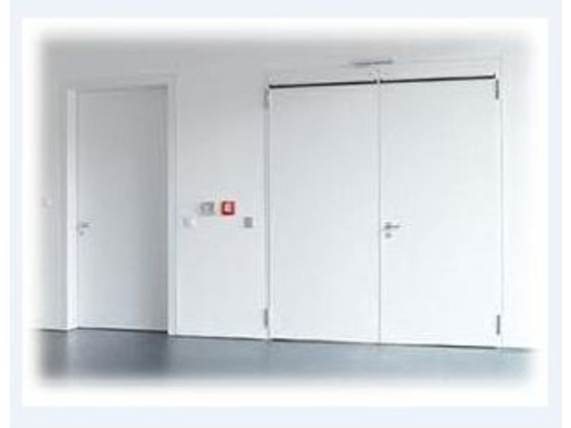 Portes Coupefeu Contact PACA FERMETURES INDUSTRIELLES - Porte coupe feu 2h