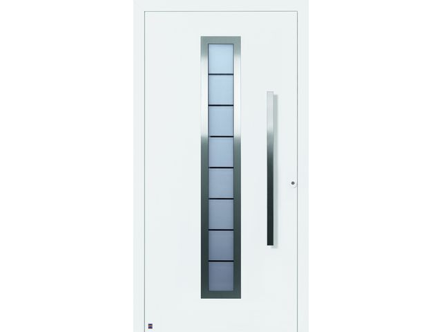 Portes d entr e en aluminium thermosafe contact hormann - Hormann porte d entree ...