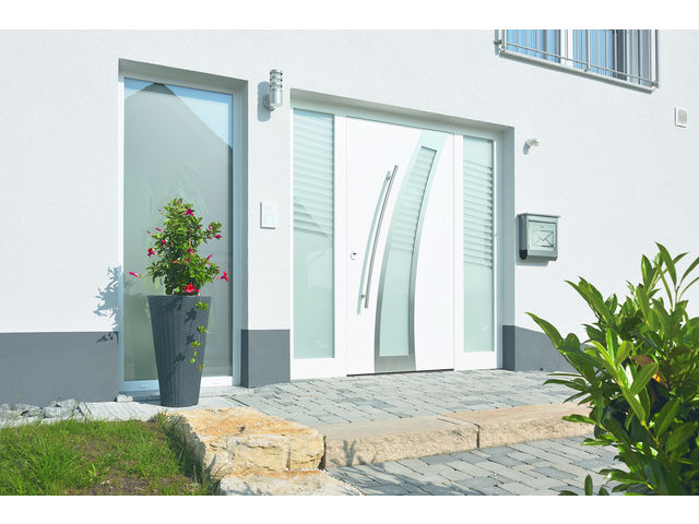 Portes D Entr E En Aluminium Thermosafe Contact Hormann