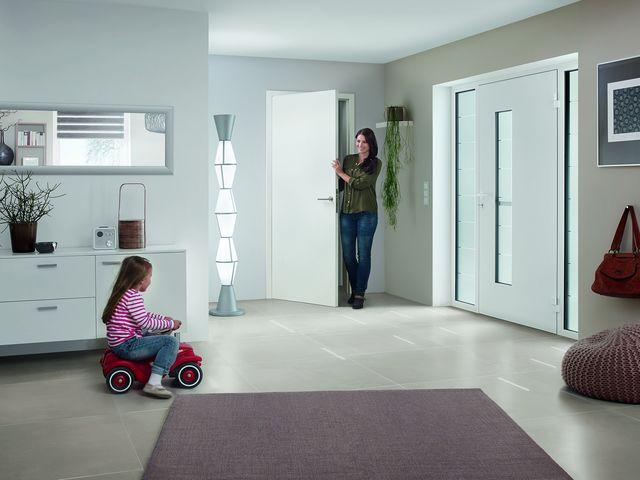 Portes d entr e en aluminium thermosafe contact hormann for Porte d entree hormann
