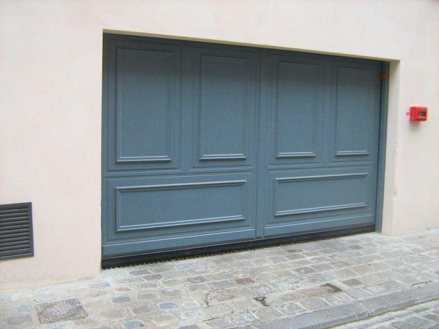 Portes de garage basculantes safir s400 d co bois for Porte de garage safir