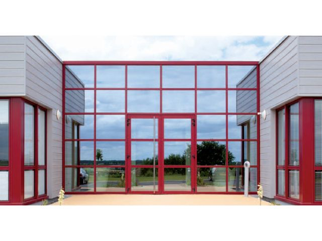 Portes renforcees aluminium contact alizee fermetures for Fermeture aluminium