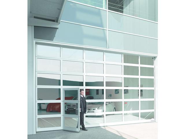 Installation thermique portes sectionnelles industrielles - Porte de garage industrielle occasion ...