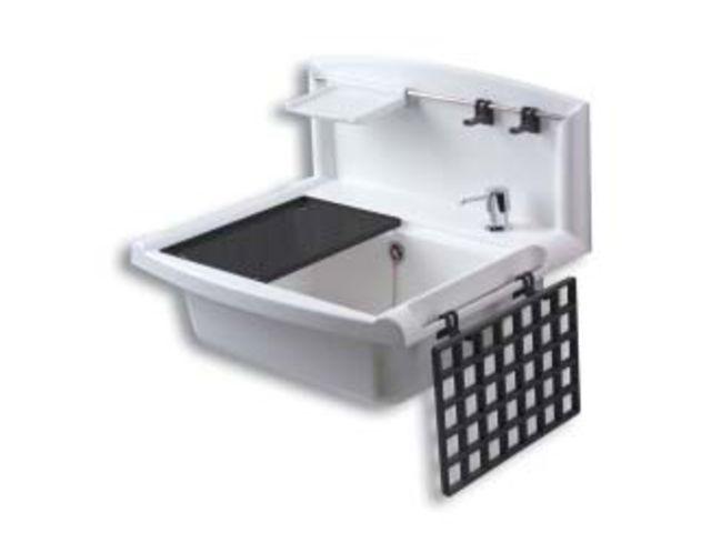 postes d 39 eau et bac laver pour fixation murale contact raccords et plastiques nicoll. Black Bedroom Furniture Sets. Home Design Ideas