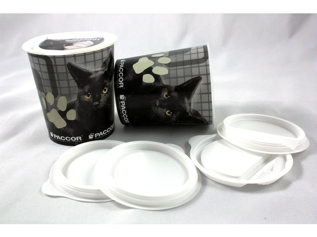 Pot papier et plastique DuoSmart®  pour PET FOOD - VERIPLAST SOLUTIONS