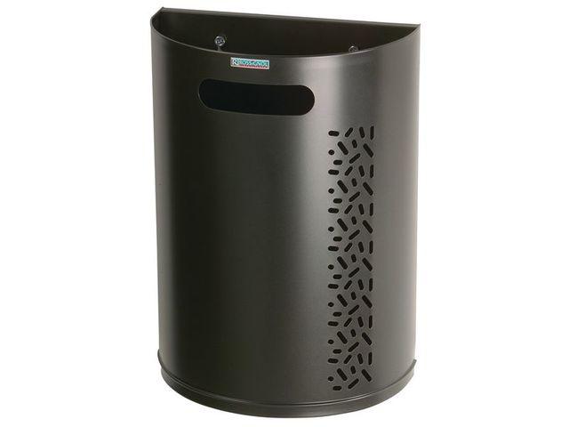 poubelle murale d crochable rossignol contact seton. Black Bedroom Furniture Sets. Home Design Ideas