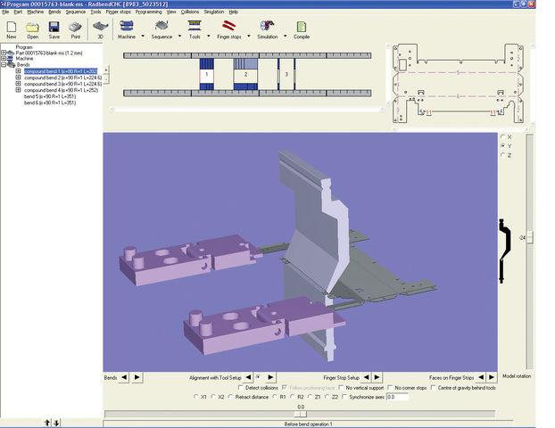 ... fabrication, FAO > Préparation de la fabrication FAO Radbend