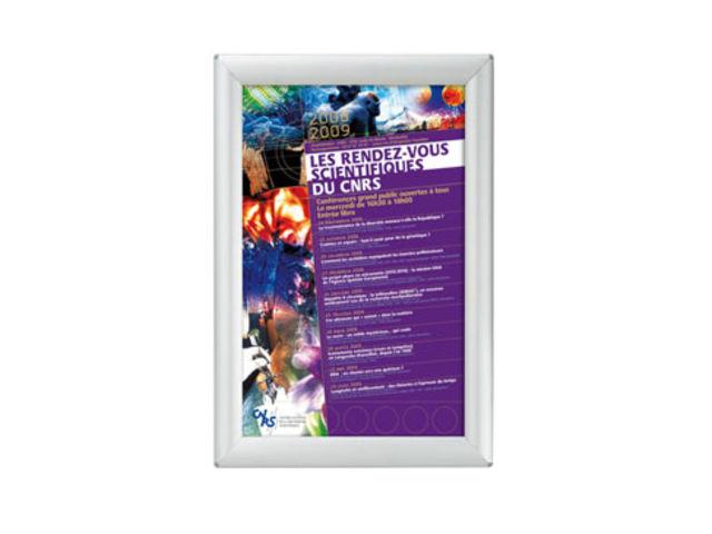 Pr sentoir affiche mural clic clac visu clic affichage - Presentoir photos mural ...