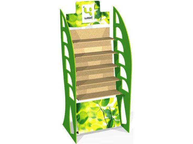 presentoirs en bois l lock contact 4 wood. Black Bedroom Furniture Sets. Home Design Ideas