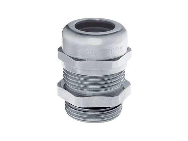 10 Pièce câble raccord laiton nickelés SKINTOP ® m20x1,5 Câble introduction