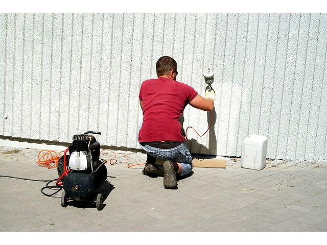 Prestation de peinture pour bâtiments : salle blanche, chambre froide  alimentaire, abattoir…