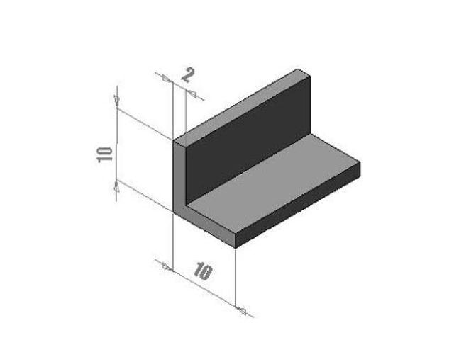 profil de corni re 10 x 10 contact thermoplast profils sas. Black Bedroom Furniture Sets. Home Design Ideas