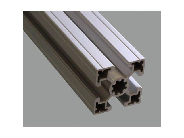 Profile aluminium 40x40 rainure de 10 mm contact systeal - Profile aluminium u ...