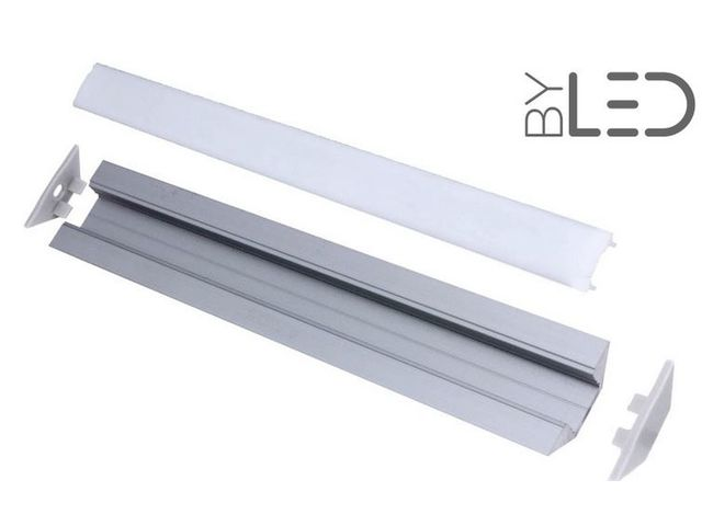 Profilé aluminium d'angle pour ruban LED : CRAFT - A03_FRANCE LED DIFFUSION - ByLED_2