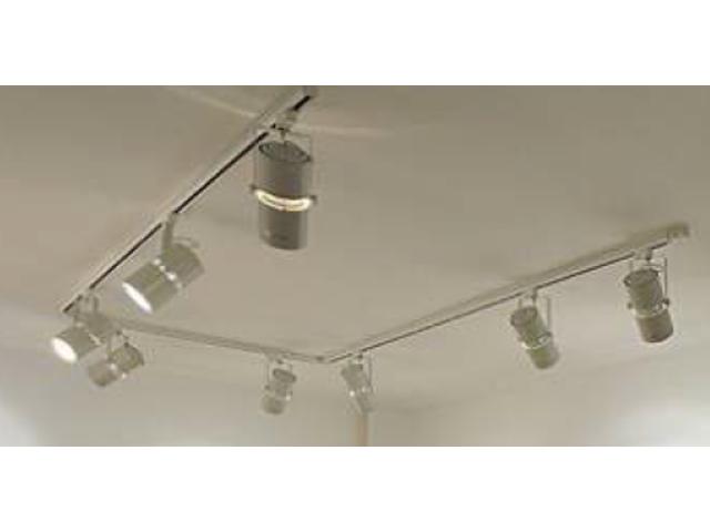 projecteur led long sur rail 46 w avec flux lumineux 4948 lm contact chm led. Black Bedroom Furniture Sets. Home Design Ideas