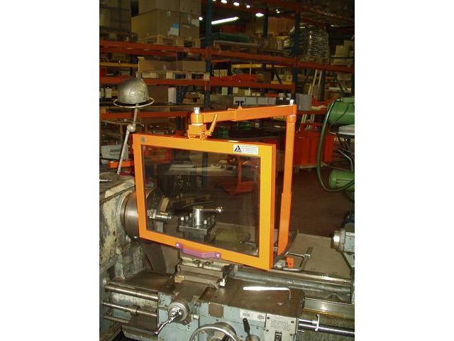 Protection pour machines outils - Tours