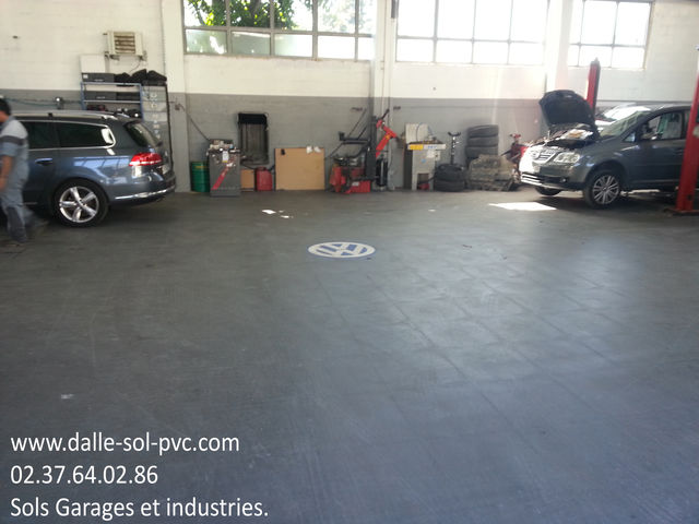 Quel revetement de sol pour un garage contact dalle - Quel revetement de sol pour un garage ...