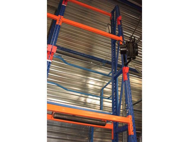 Rack tourets contact pro stockage logistique - Rack de stockage brico depot ...