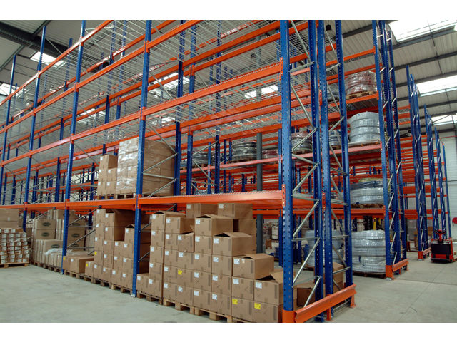 Racks palettes contact habrial manutention - Rack de stockage brico depot ...