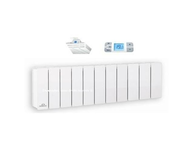 Radiateur airelec fonte active fontea digital plinthe 1500 w contact airch - Radiateur fonte design ...