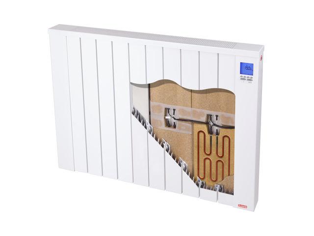 radiateur electrique inertie horizontal jawotherm 2400 w. Black Bedroom Furniture Sets. Home Design Ideas