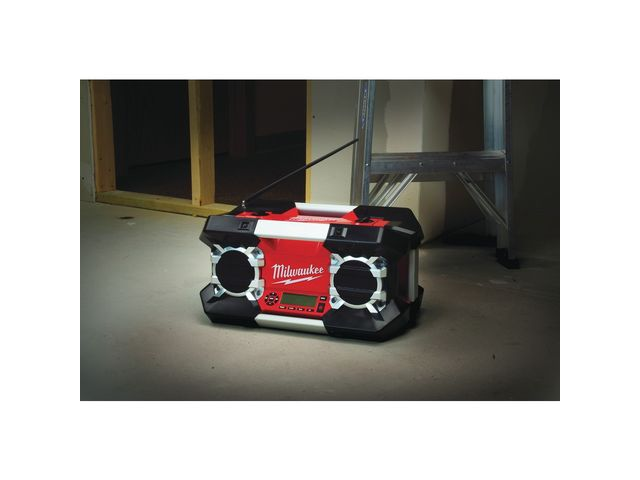 Radio de chantier MILWAUKEE C12-18 DCR Sans chargeur, ni batterie - 4933416345 - MAXOUTIL