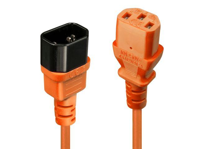 3m Rallonge Secteur IEC C14 vers IEC C5 Cloverleaf