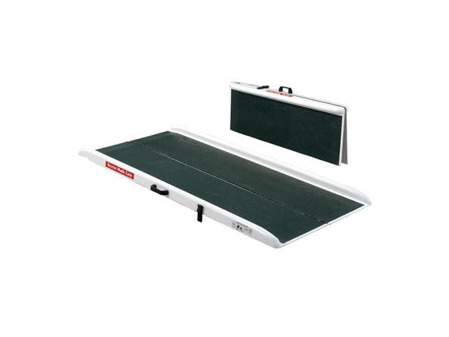 rampe d 39 acc s pliable blanc et vert contact signals. Black Bedroom Furniture Sets. Home Design Ideas