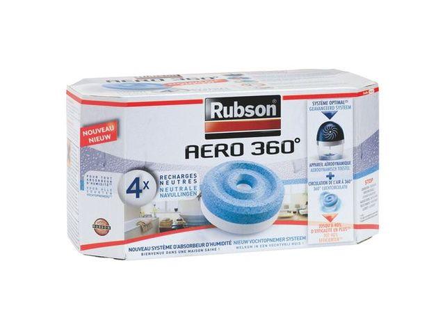 recharge aero 360 pour absorbeur d 39 humidit rubson boite de 4 contact maxiburo. Black Bedroom Furniture Sets. Home Design Ideas
