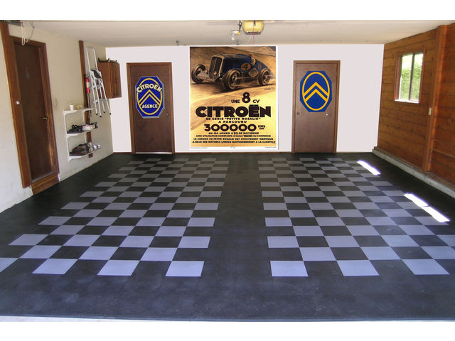 recouvrir sol garage contact dalle sol pvc com une activit apara. Black Bedroom Furniture Sets. Home Design Ideas