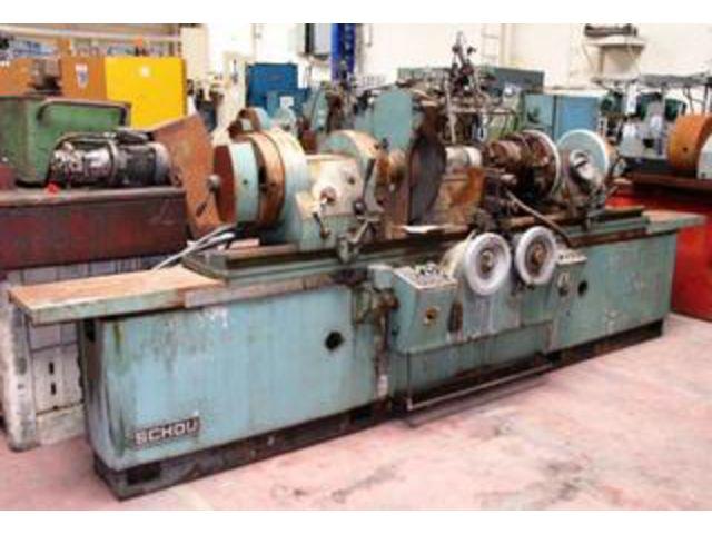 Machine Outil Bois Occasion - Rectifieuse de vilebrequins Réparation SCHOU Type 1600 P Contact FMO FRANCE MACHINES OUTILS