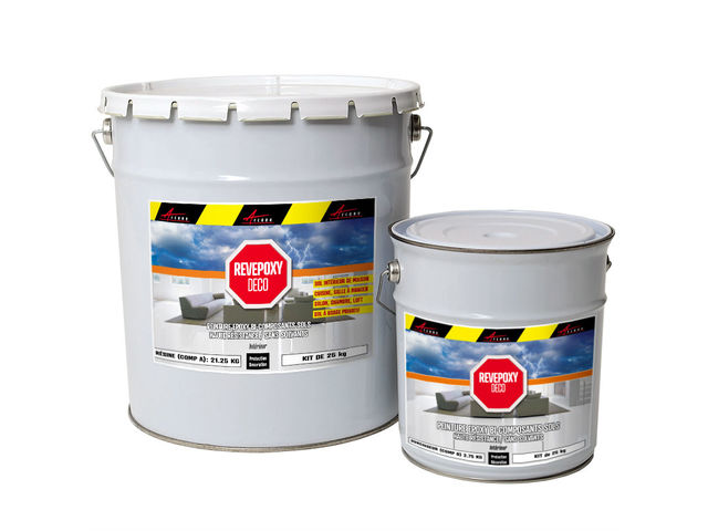 R sine color e pour sol int rieur peinture epoxy deco contact arcane industries - Peinture sol epoxy ...