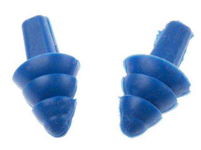 Reusable Tpe Ear Plug Blue