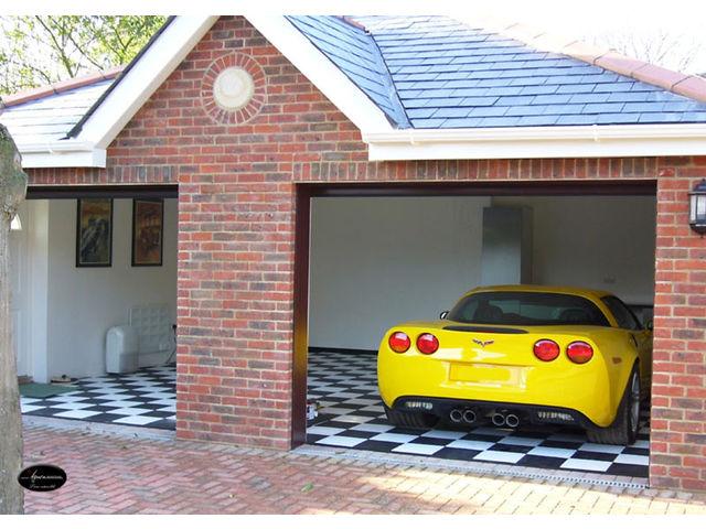 Rev tement de sol garage voiture contact dalle sol pvc - Peinture pour mur de garage ...
