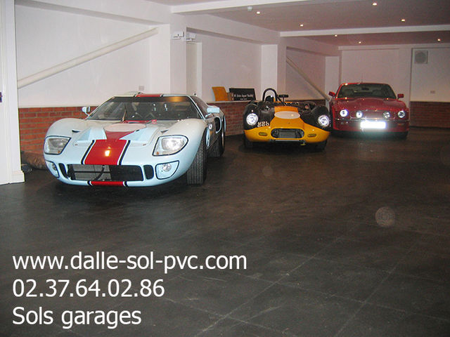 rev tement de sol garage voiture contact dalle sol pvc