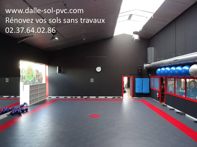 Revetement De Sol Salle Fitness Contact Dalle Sol Pvc Com Une