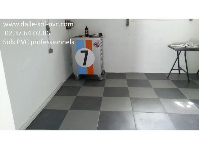 Revetement Epoxy Sol Garage   Contact Dalle-Sol-Pvc.Com ( Une