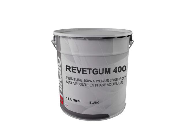 Revetgum 400 peinture pour toiture a base de resine acrylique en phase aqueuse contact for Peinture pour resine