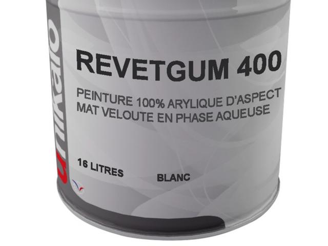 Revetgum 400 peinture pour toiture a base de resine for Peinture en resine