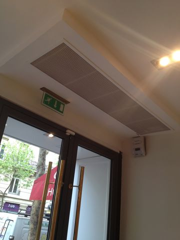 rideau d 39 air chaud contact cristal air. Black Bedroom Furniture Sets. Home Design Ideas