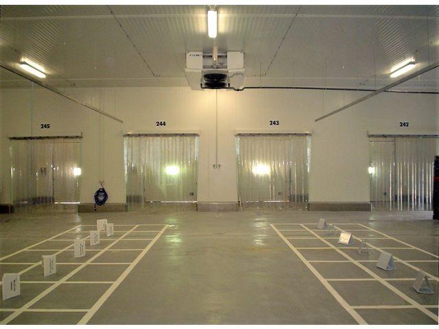 Rideau et porte lani res fixe ou coulissante contact infraca quality doors - Rideau porte coulissante ...