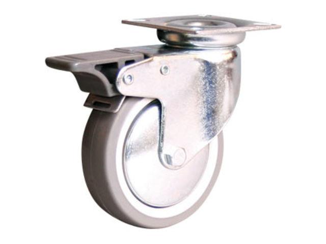 roues et roulettes caoutchouc cheap picobello roulette fixe roue caoutchouc et moyeu lisse with. Black Bedroom Furniture Sets. Home Design Ideas
