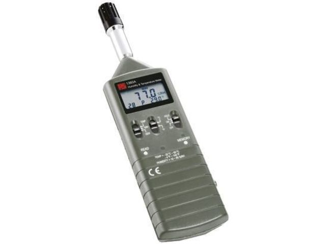 Rs-1360a Humidity + Temperature Meter